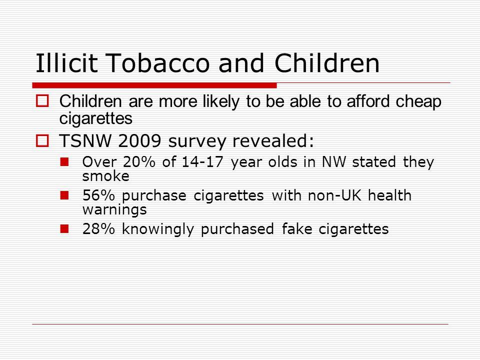 Illicit Tobacco and Children