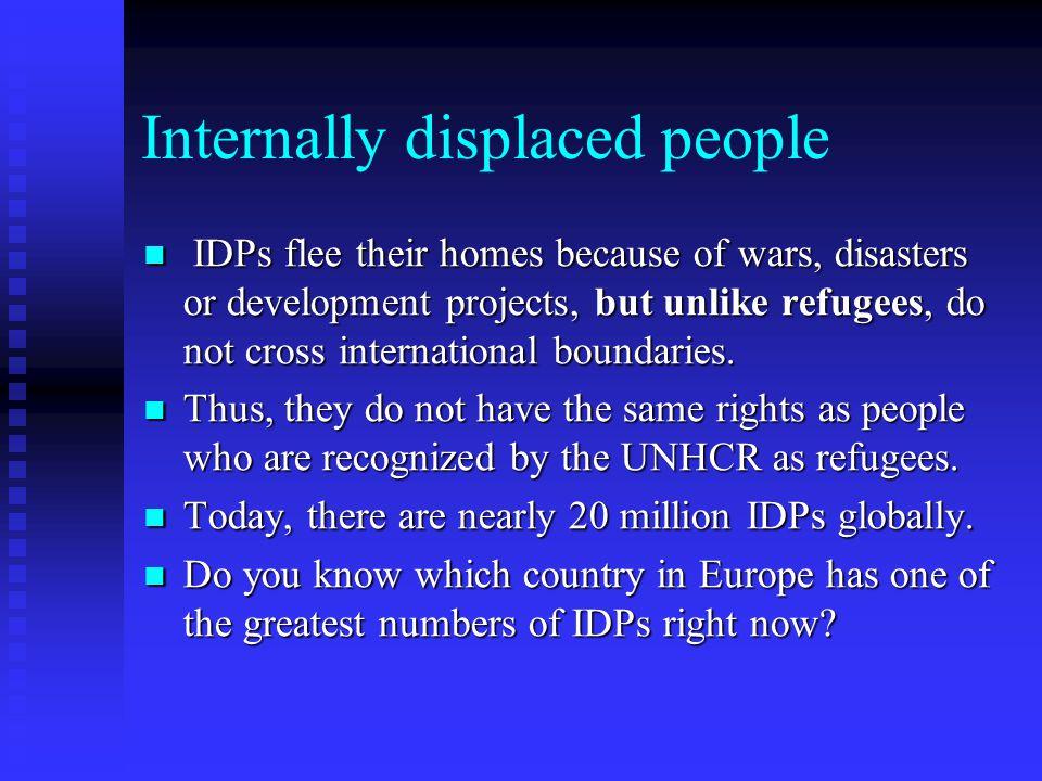 Internally displaced people