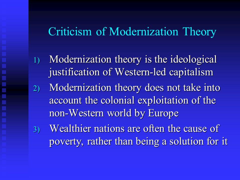 Criticism of Modernization Theory