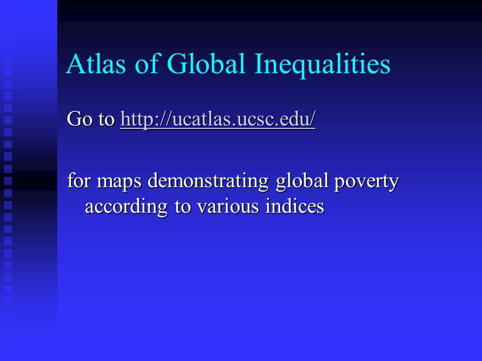 Atlas of Global Inequalities