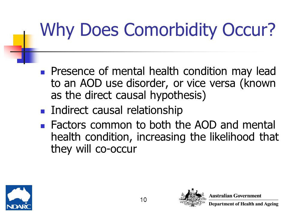 Why Does Comorbidity Occur