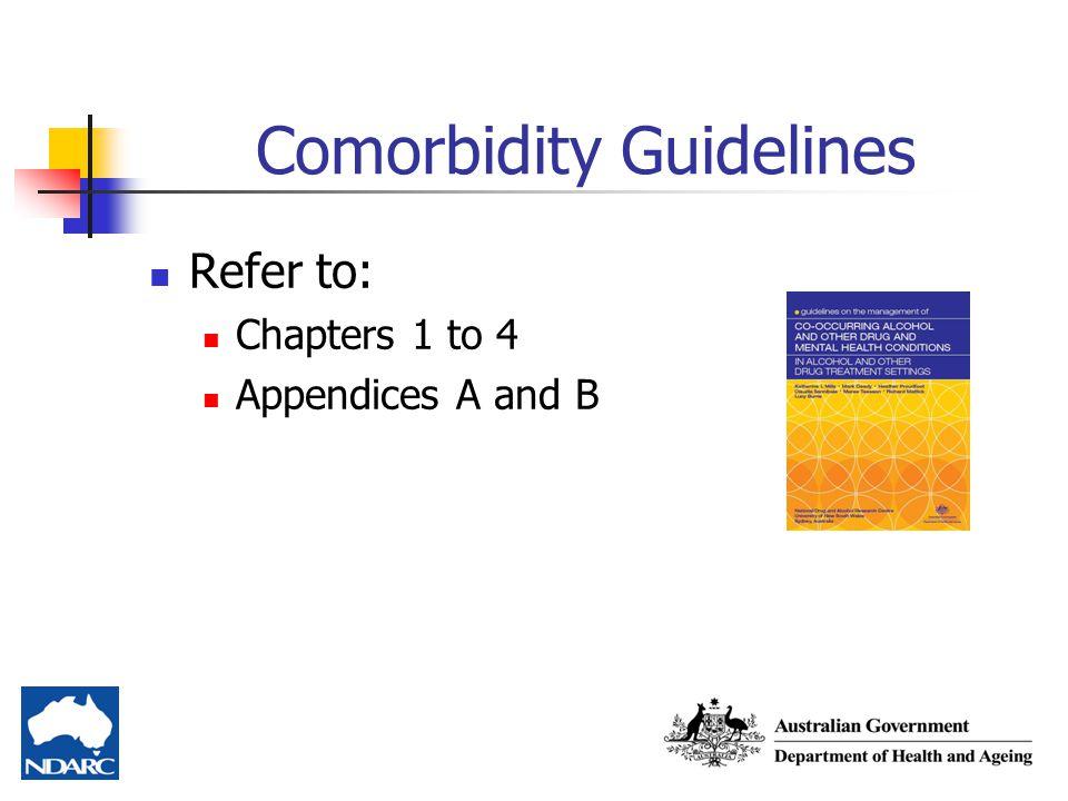 Comorbidity Guidelines