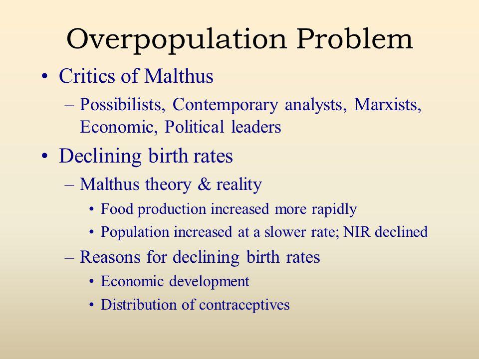 Overpopulation Problem