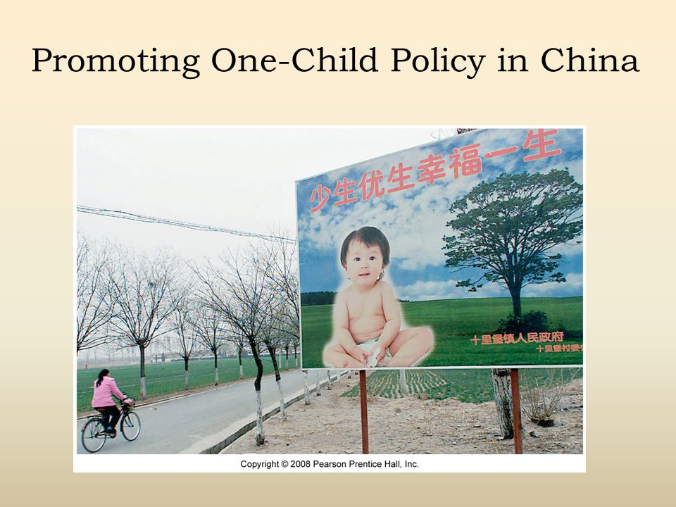 Promoting One-Child Policy in China