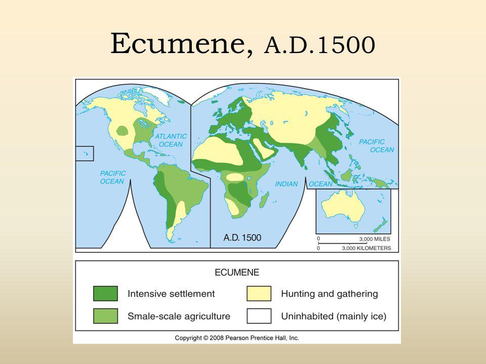 Ecumene, A.D.1500