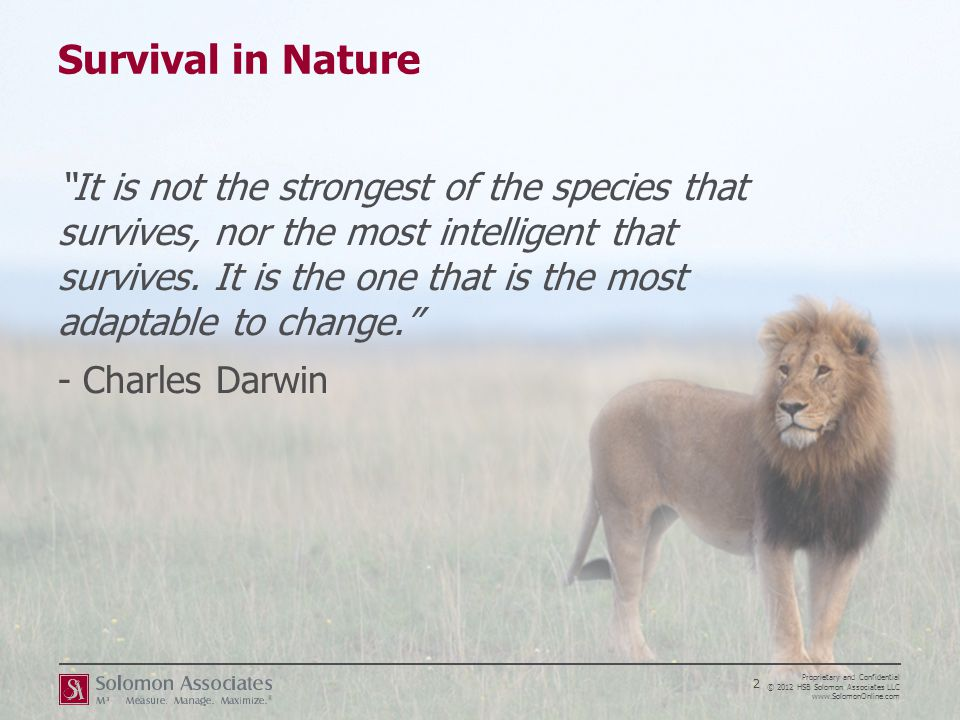 Survival in Nature