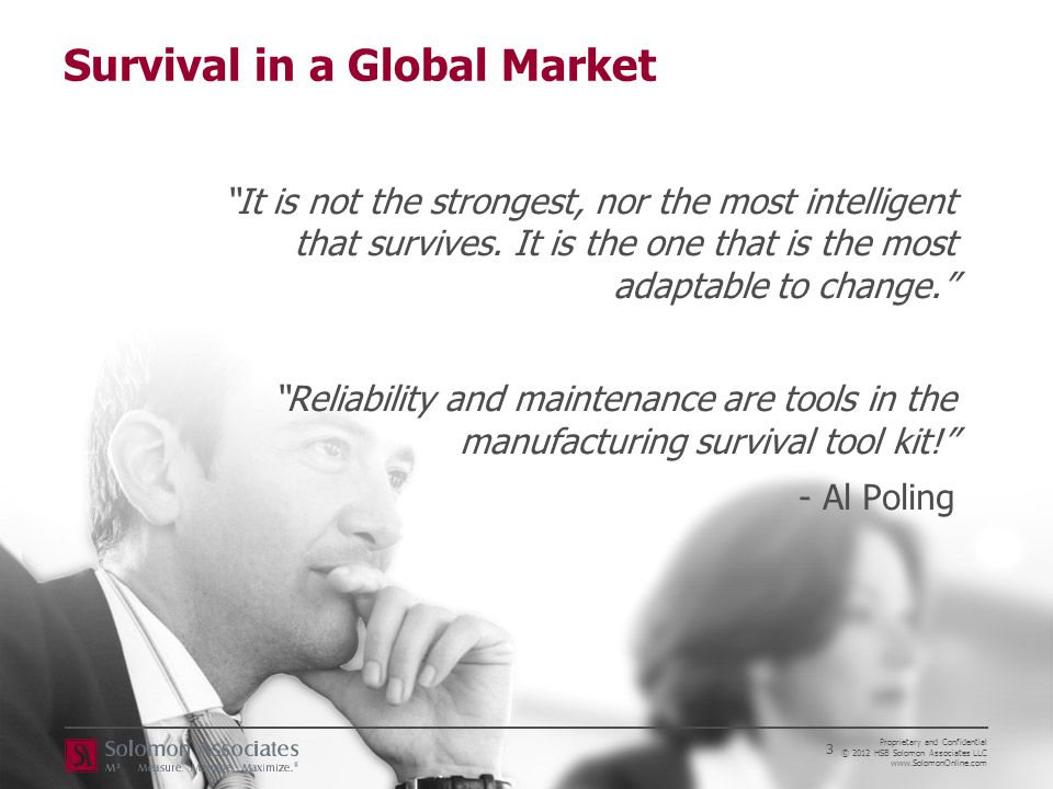 Survival in a Global Market