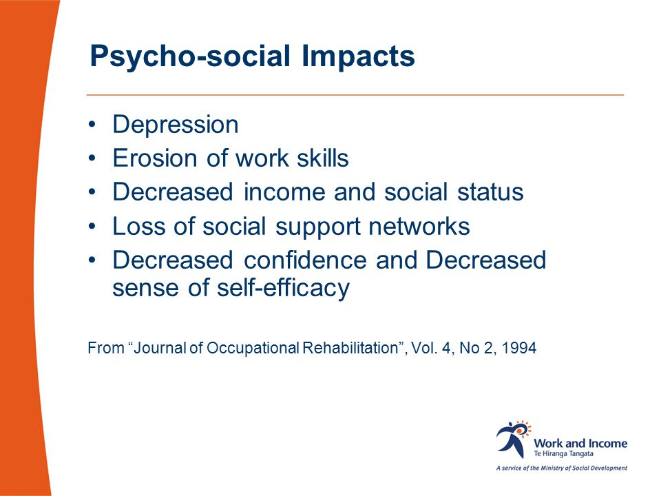 Psycho-social Impacts
