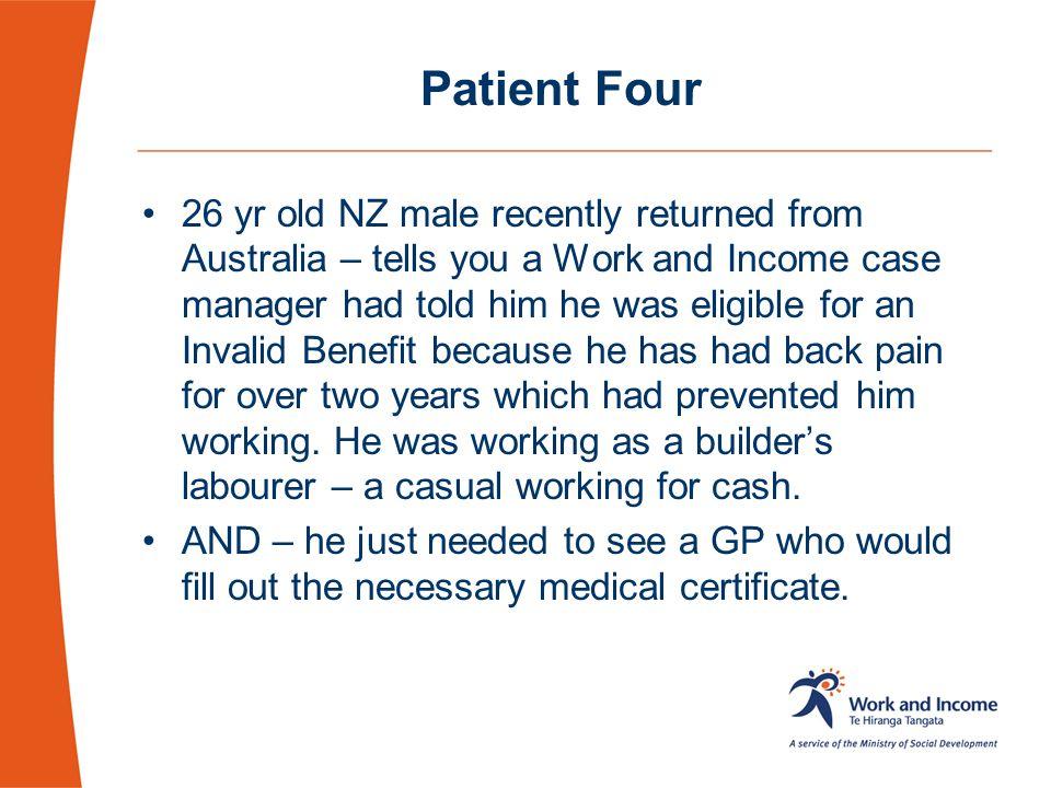 Patient Four