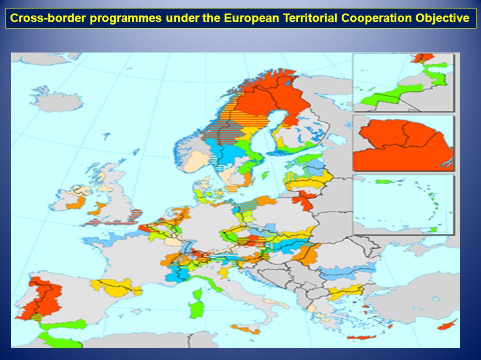 Cross-border programmes under the European Territorial Cooperation Objective