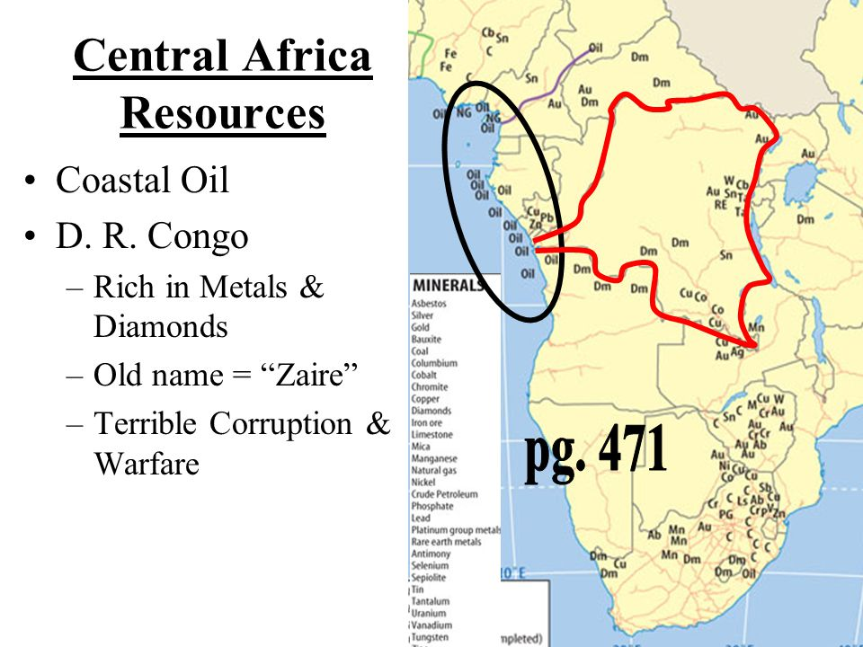 Central Africa Resources