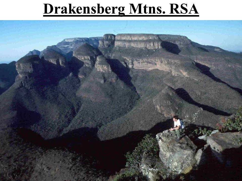 Drakensberg Mtns. RSA
