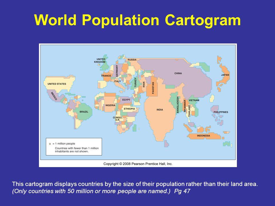 World Population Cartogram