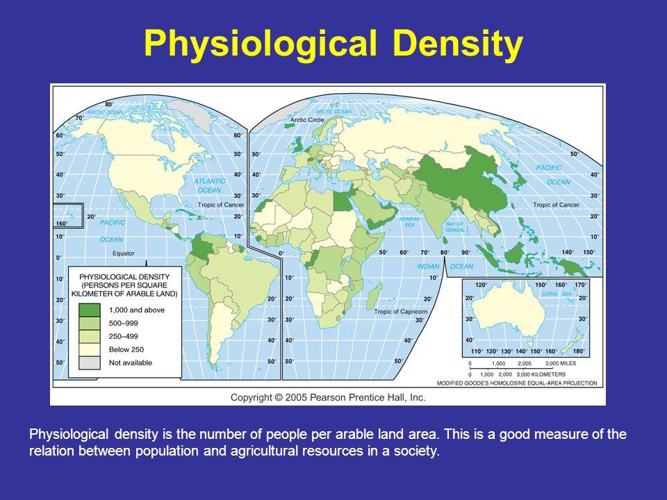 Physiological Density