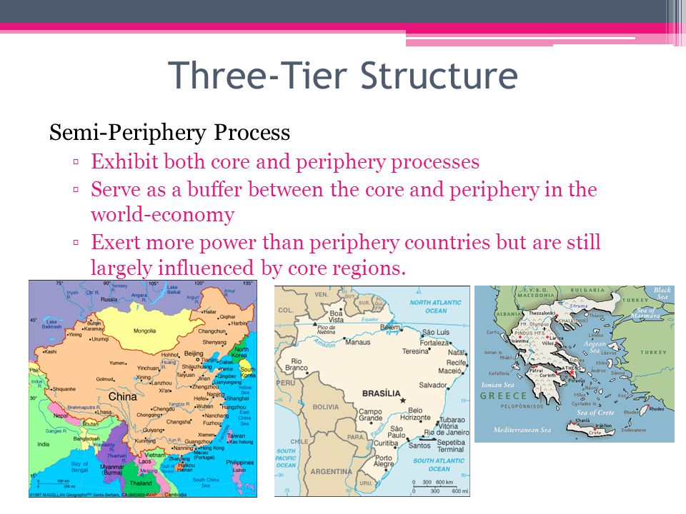 Three-Tier Structure Semi-Periphery Process