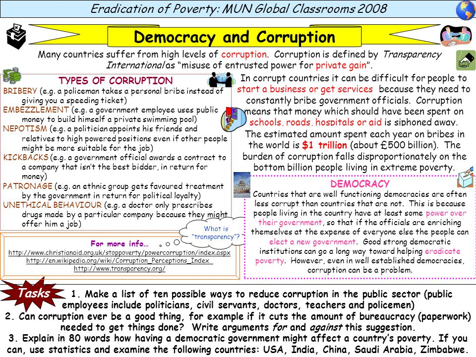Democracy and Corruption