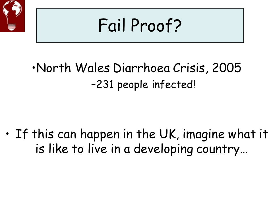 North Wales Diarrhoea Crisis, 2005