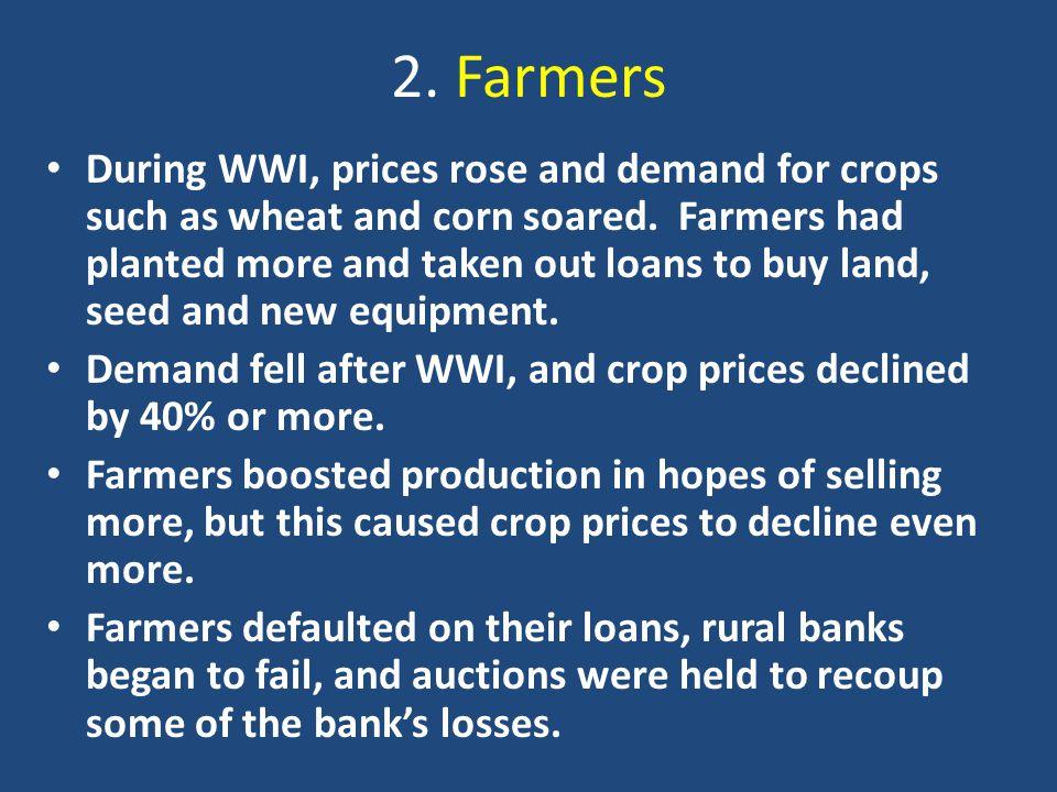 2. Farmers