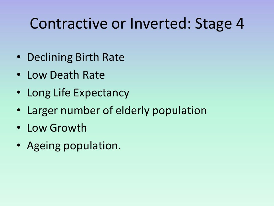 Contractive or Inverted: Stage 4