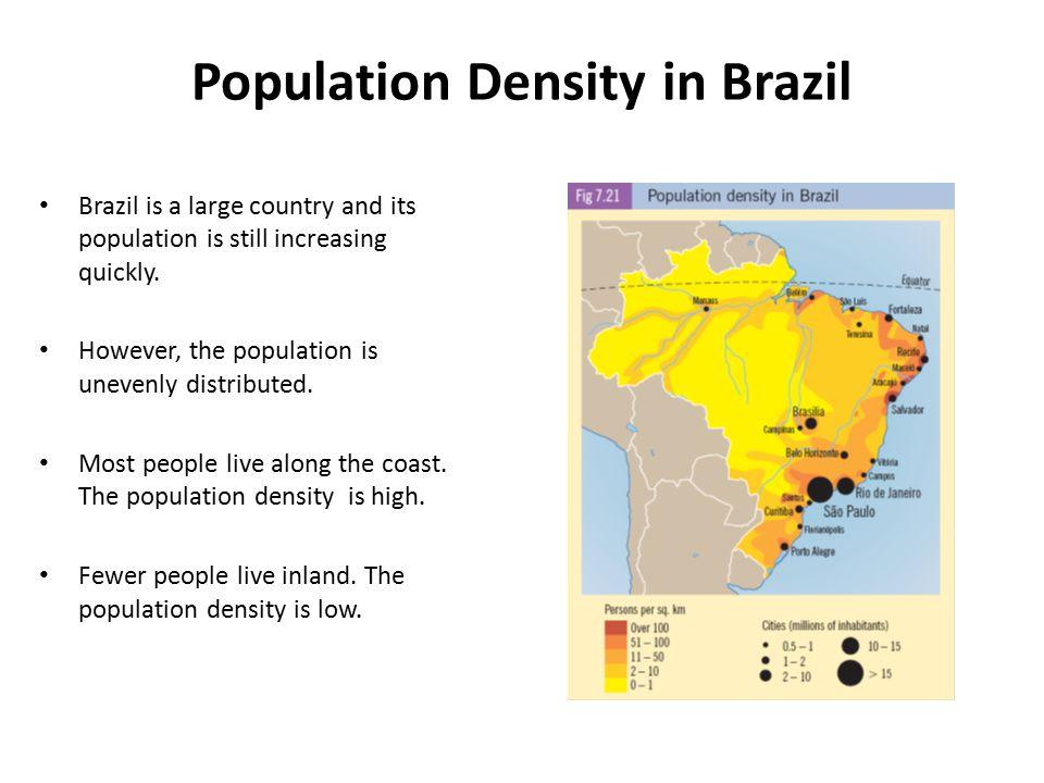 Population Density in Brazil