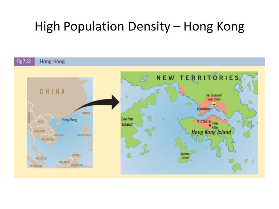 High Population Density – Hong Kong