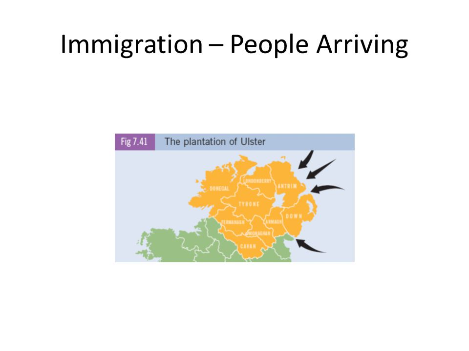 Immigration – People Arriving