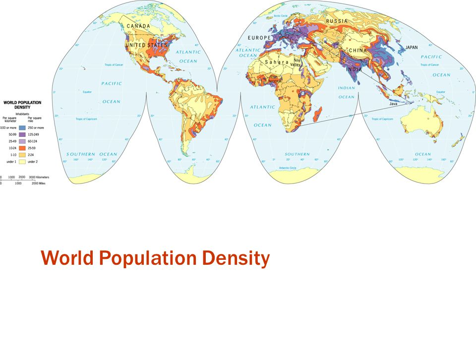 World Population Density