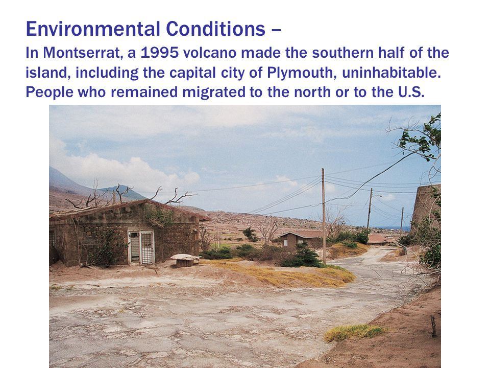 Environmental Conditions –