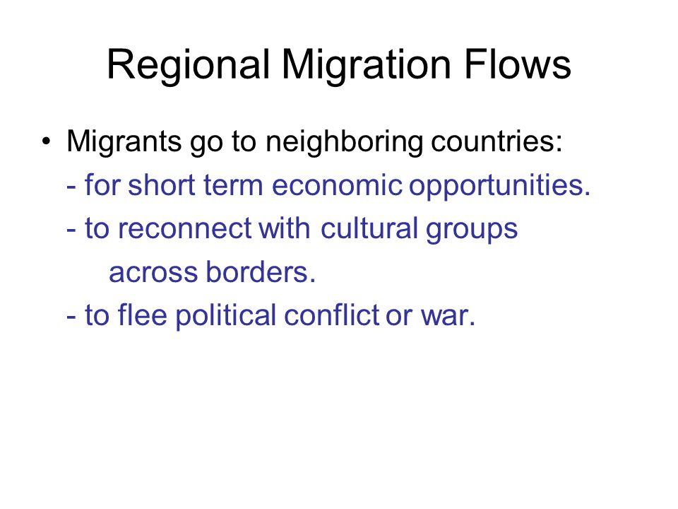 Regional Migration Flows