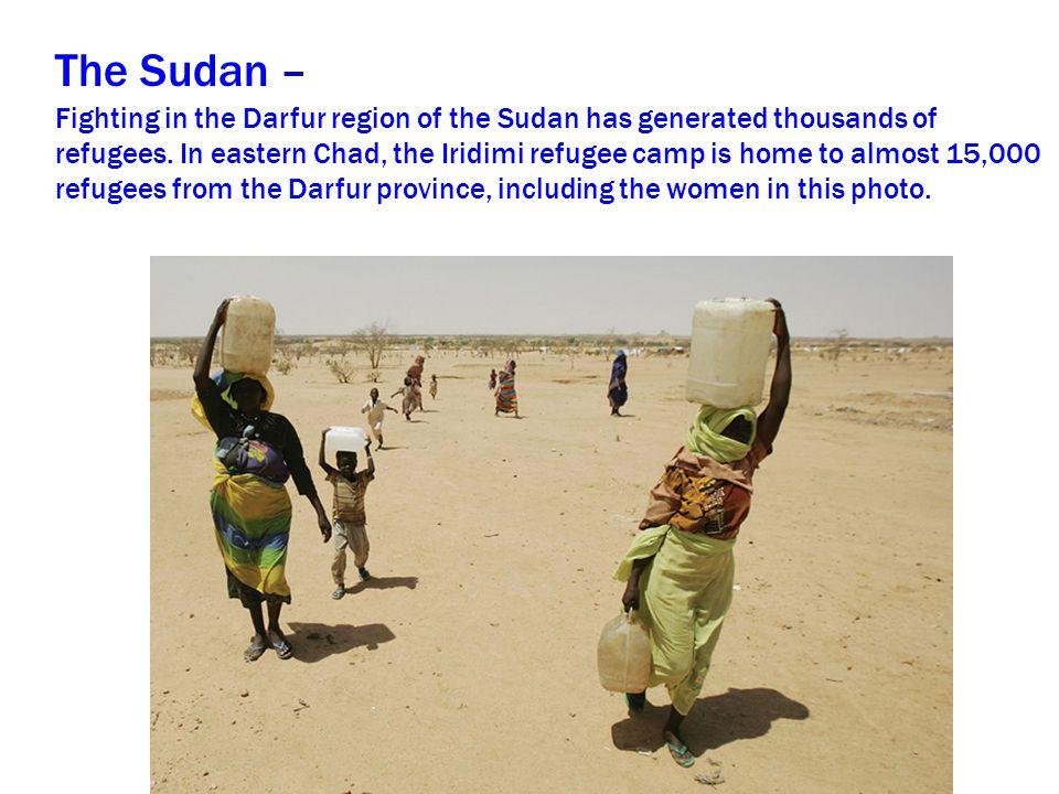 The Sudan –