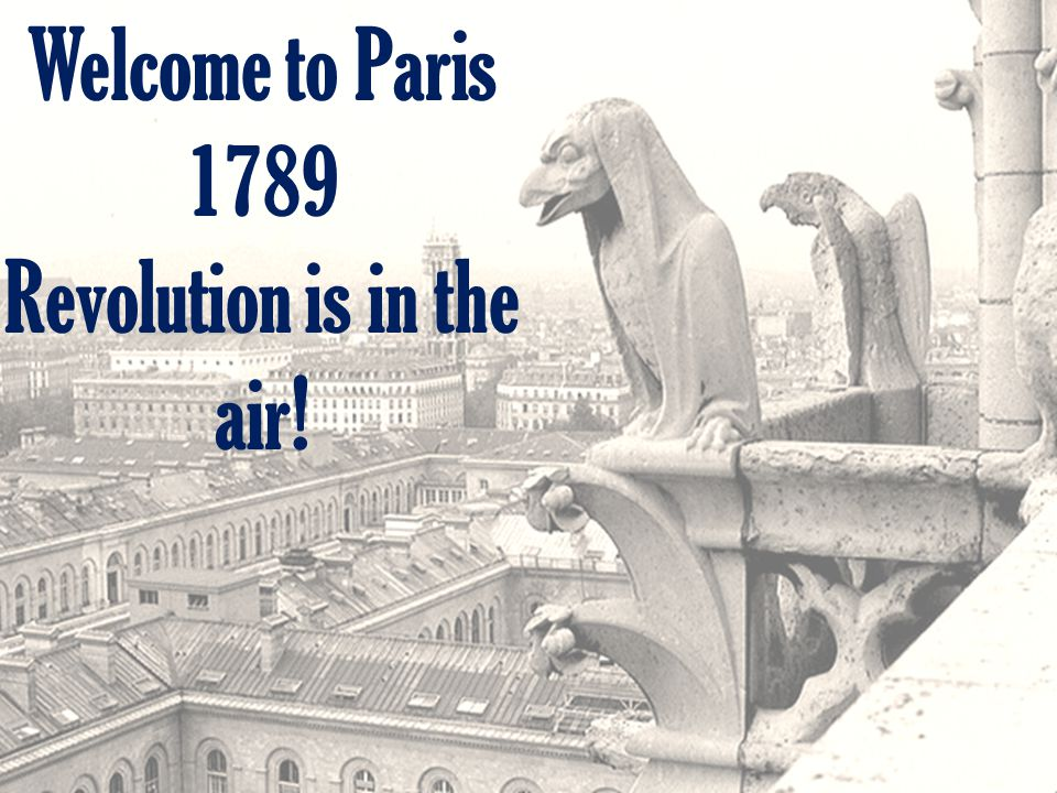 Revolution is in the air!
