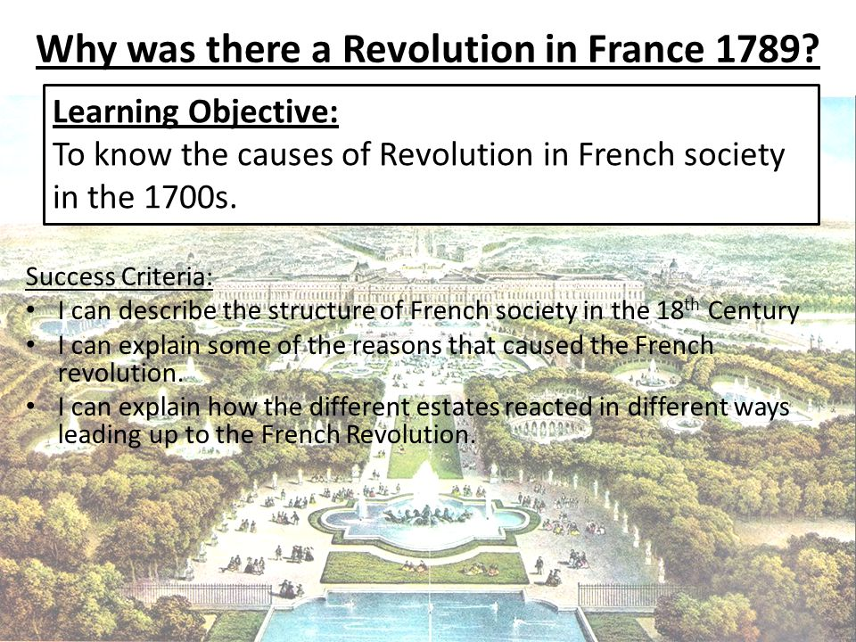 revolution is in the air ppt video online why was there a revolution in 1789