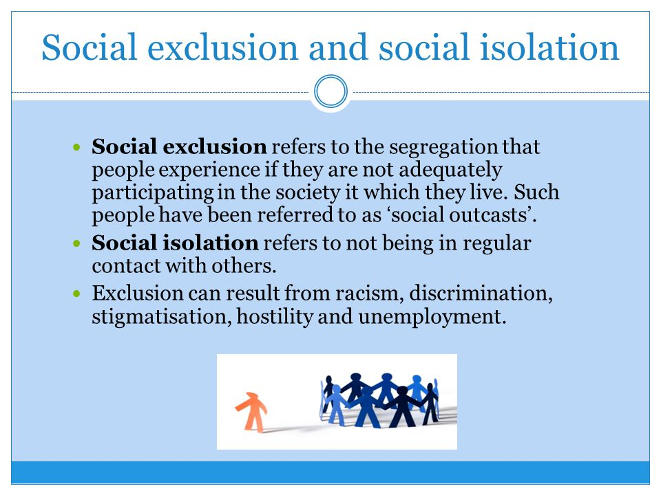 how to live in social isolation