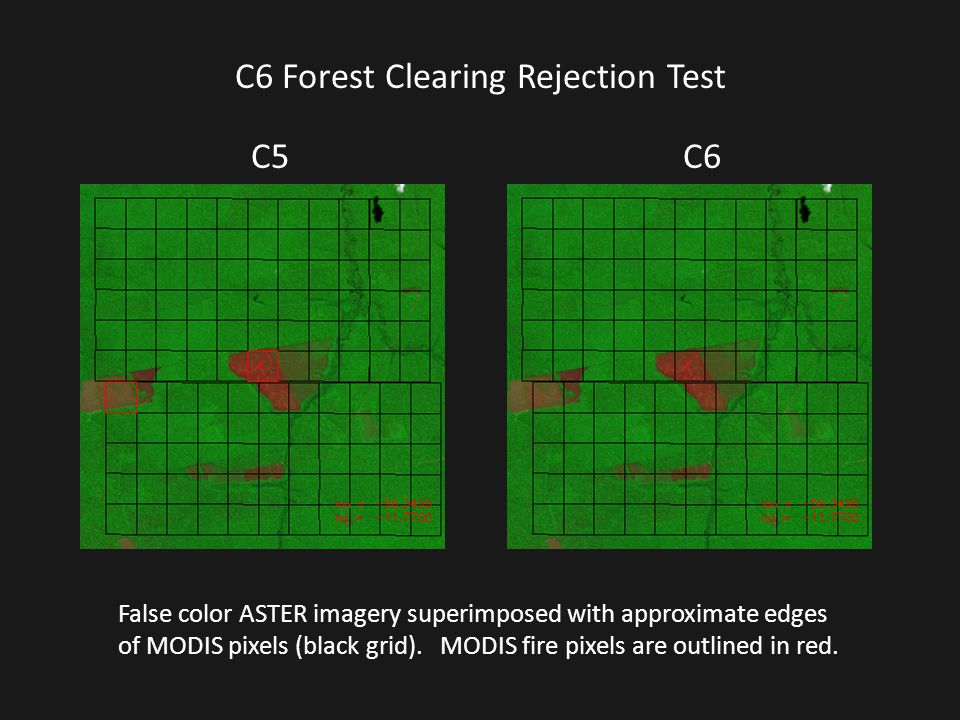 C6 Forest Clearing Rejection Test
