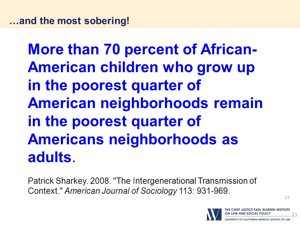…and the most sobering!