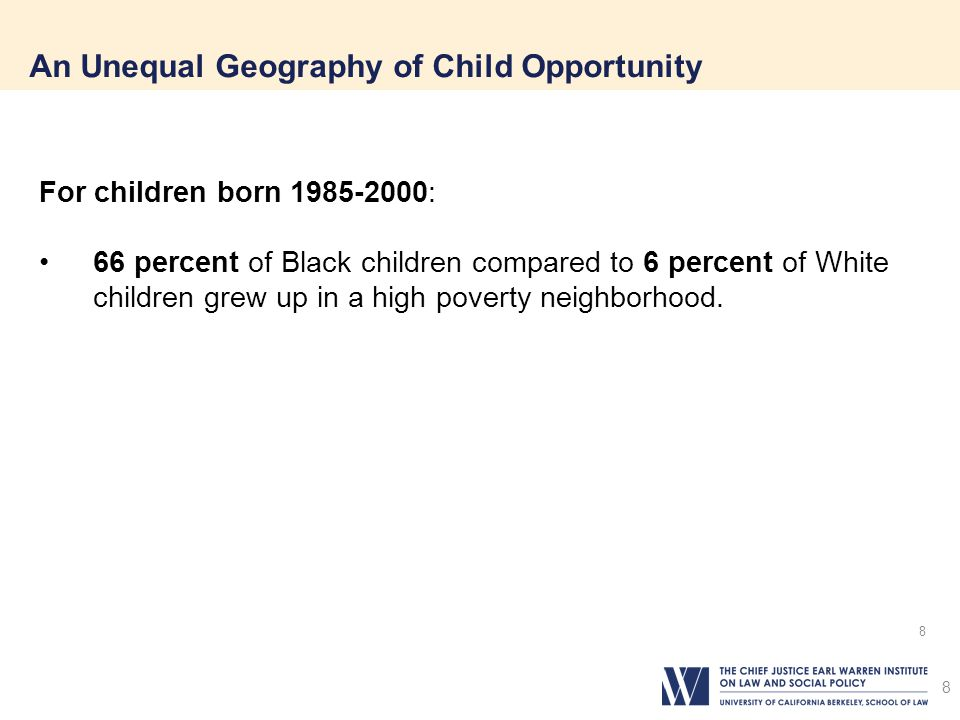 An Unequal Geography of Child Opportunity