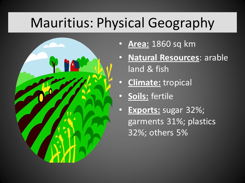 Mauritius: Physical Geography