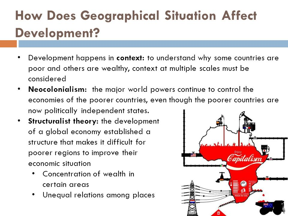 How Does Geographical Situation Affect Development