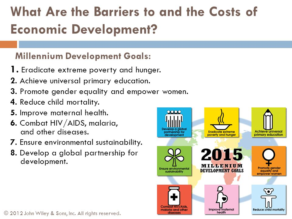 Millennium Development Goals: