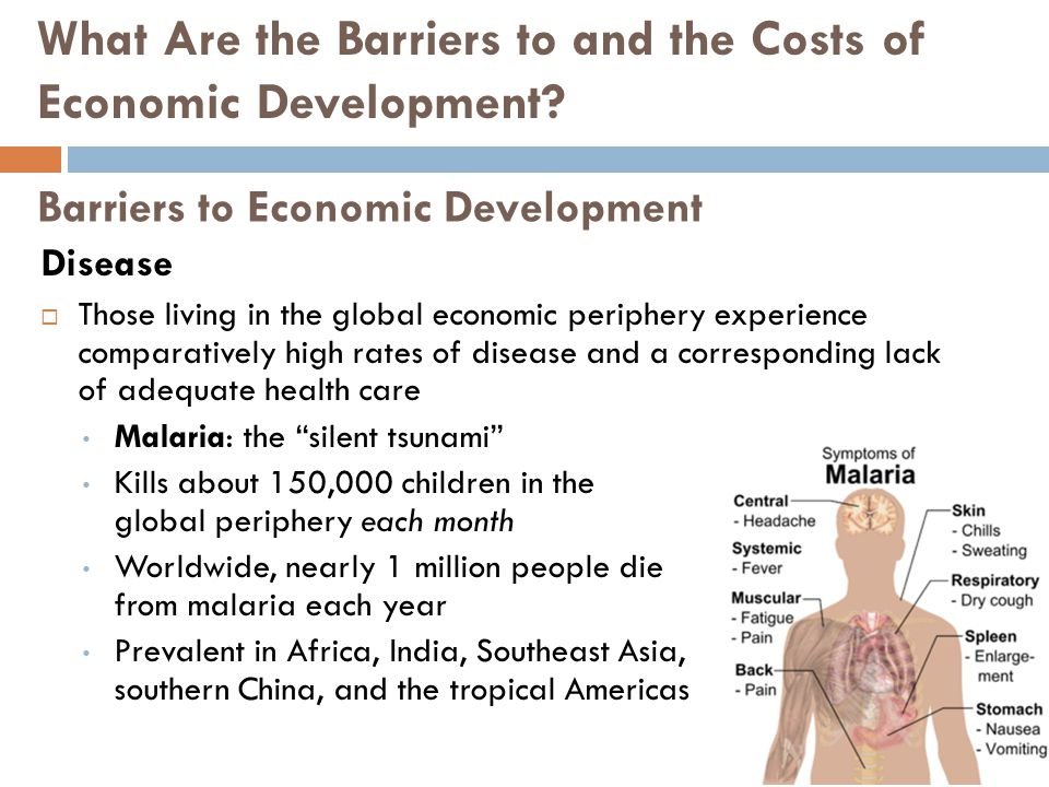 Barriers to Economic Development