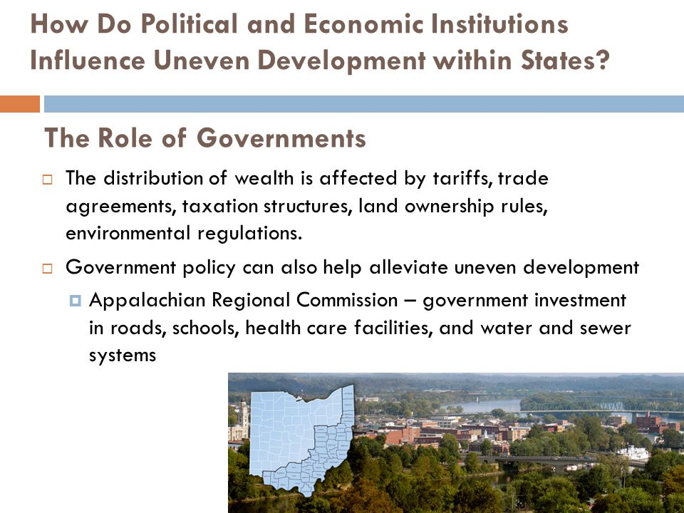 The Role of Governments