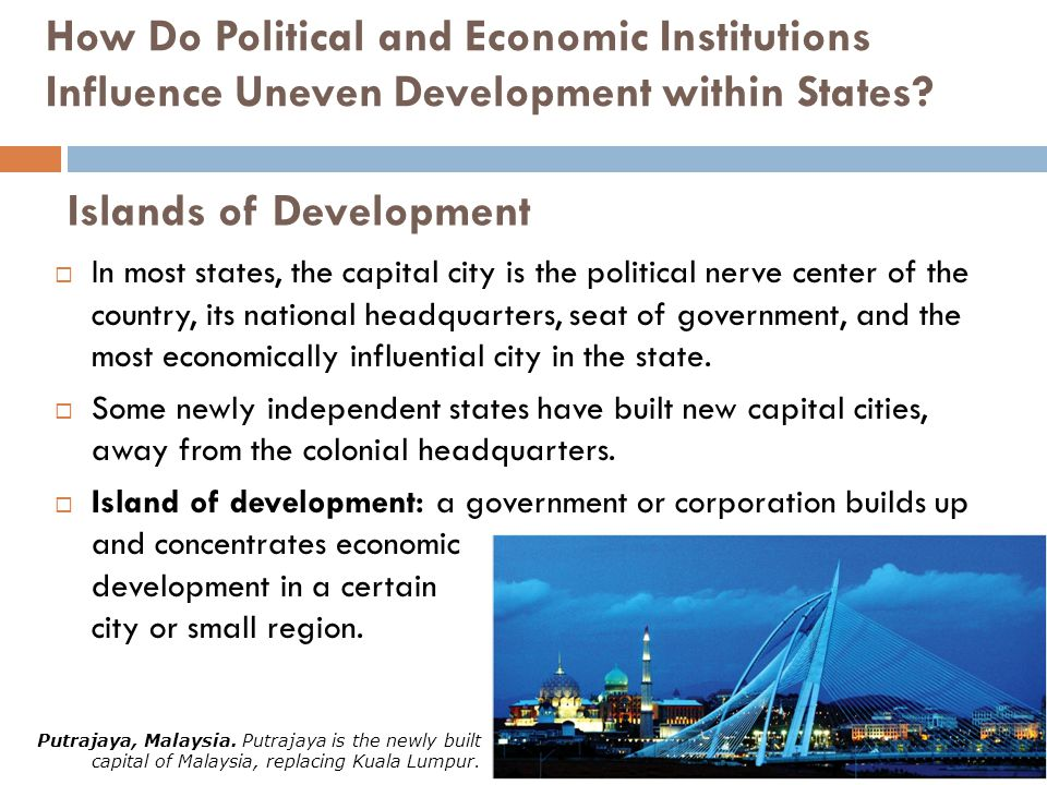 Islands of Development
