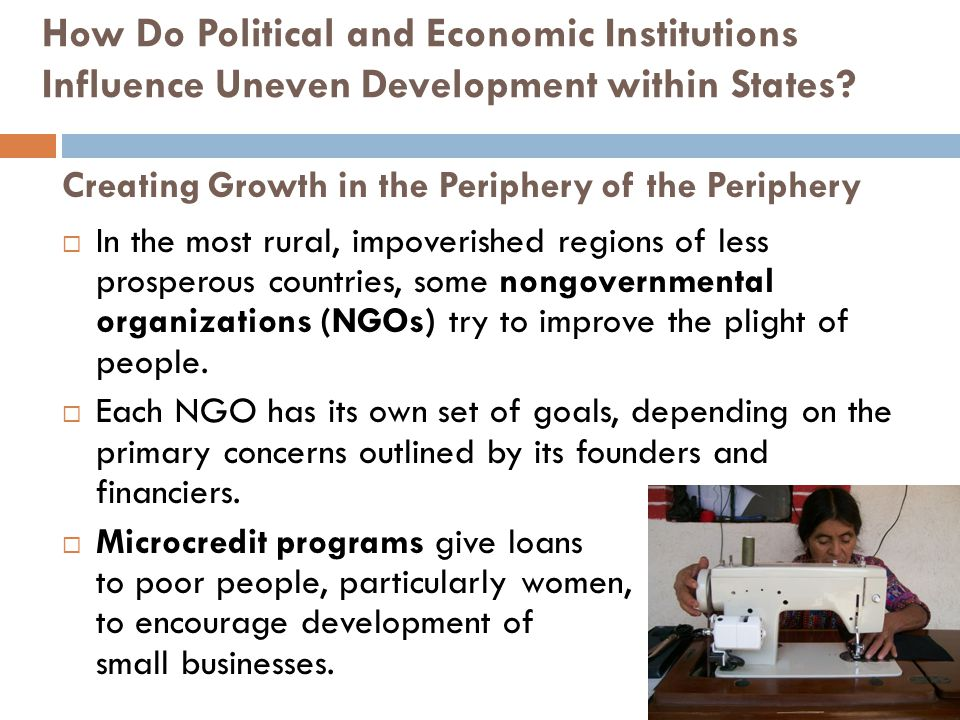 Creating Growth in the Periphery of the Periphery