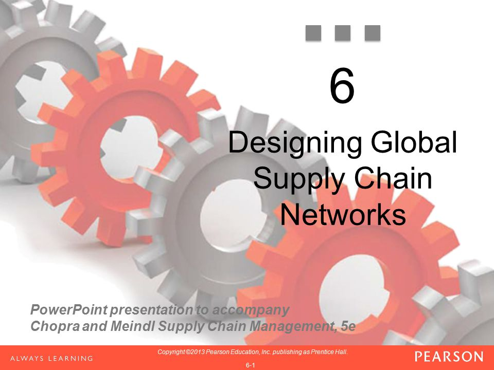 Designing Global Supply Chain Networks