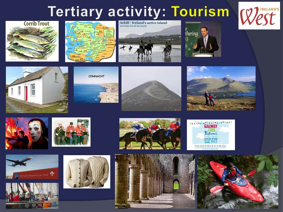 Tertiary activity: Tourism