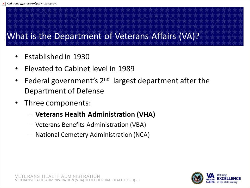 What is the Department of Veterans Affairs (VA)