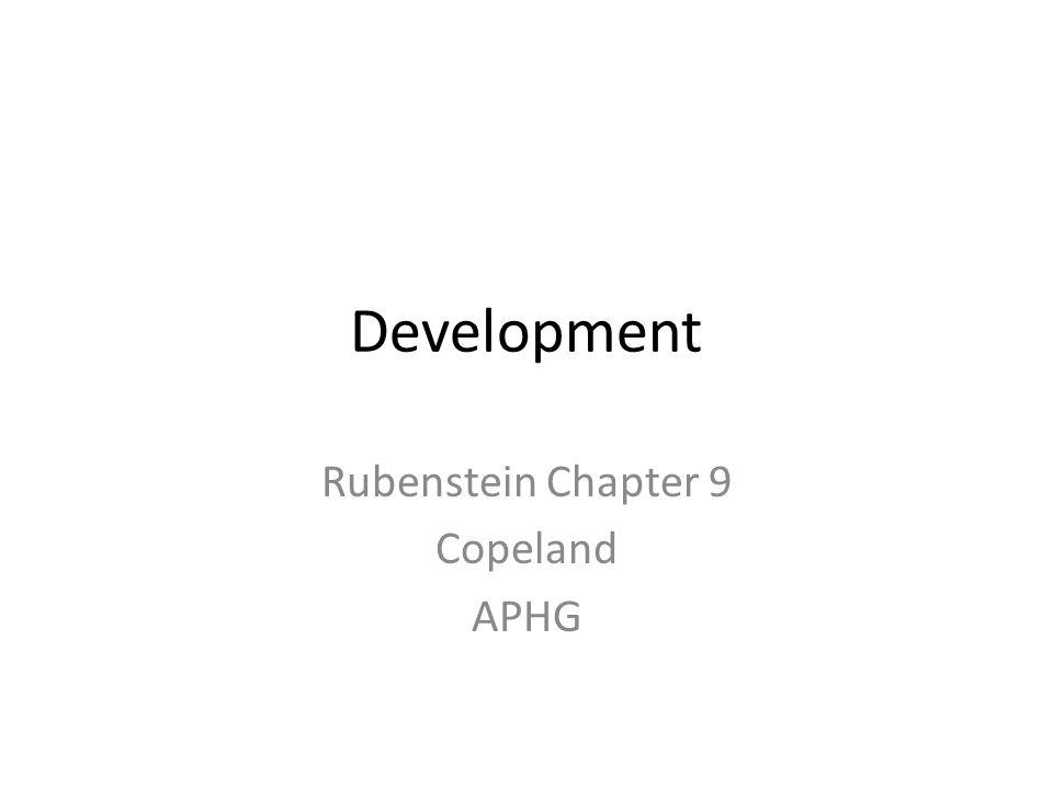 Rubenstein Chapter 9 Copeland APHG