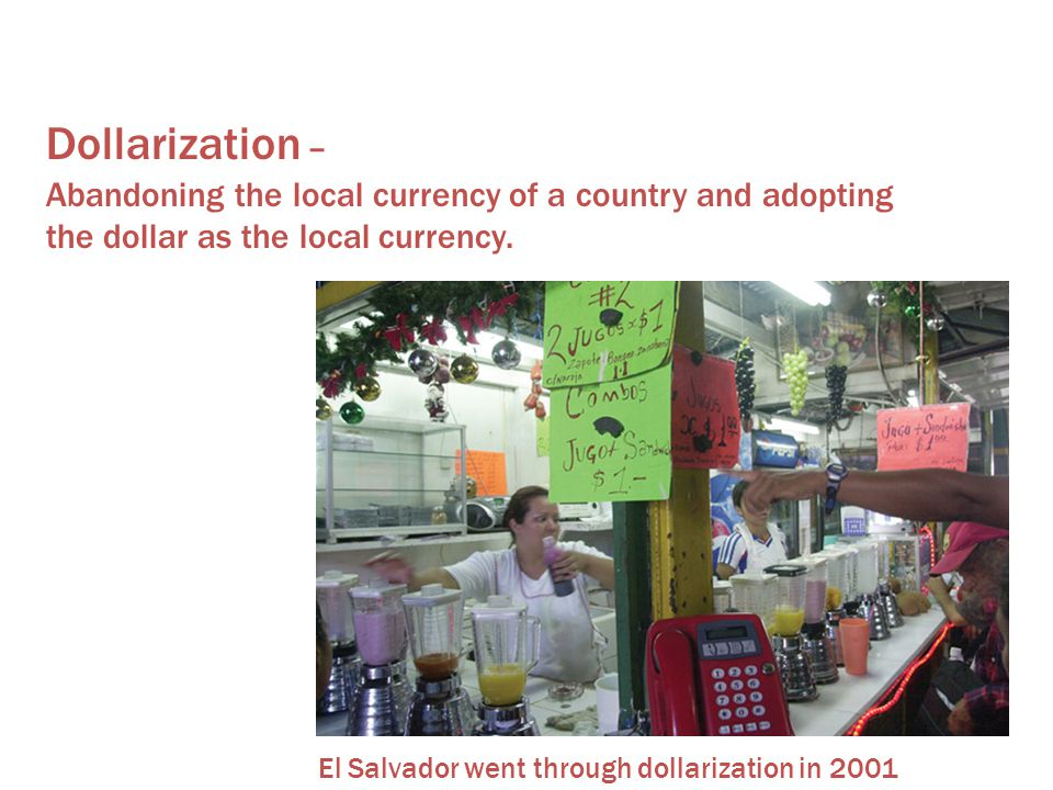 Dependency Theory Dollarization –