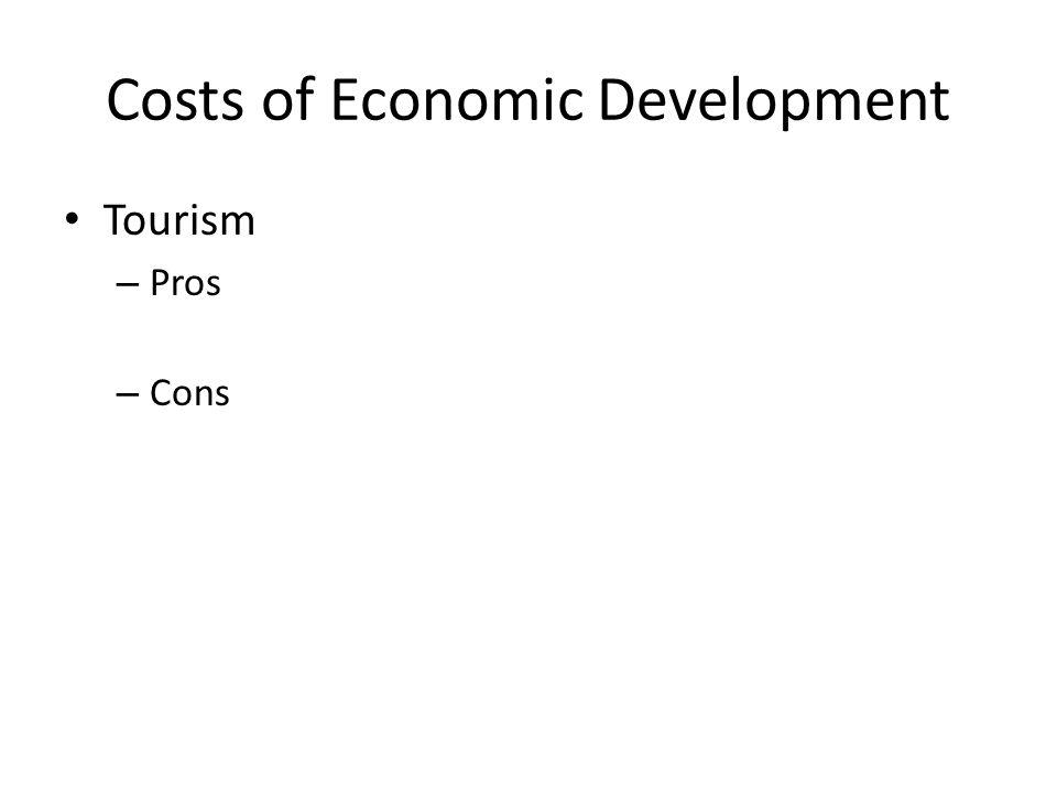 Costs of Economic Development