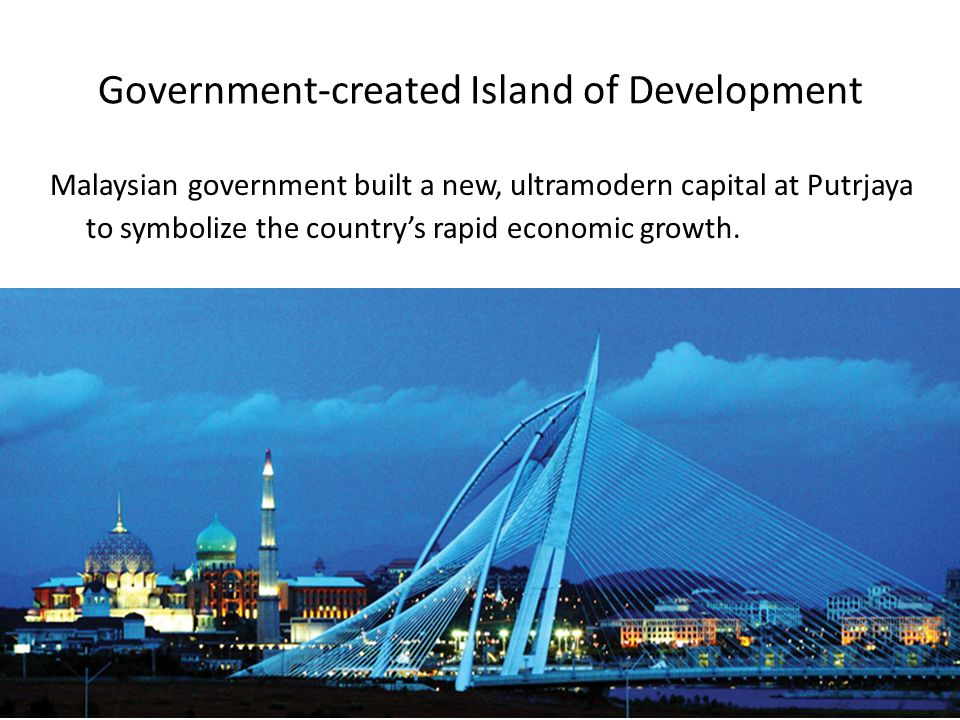 Government-created Island of Development